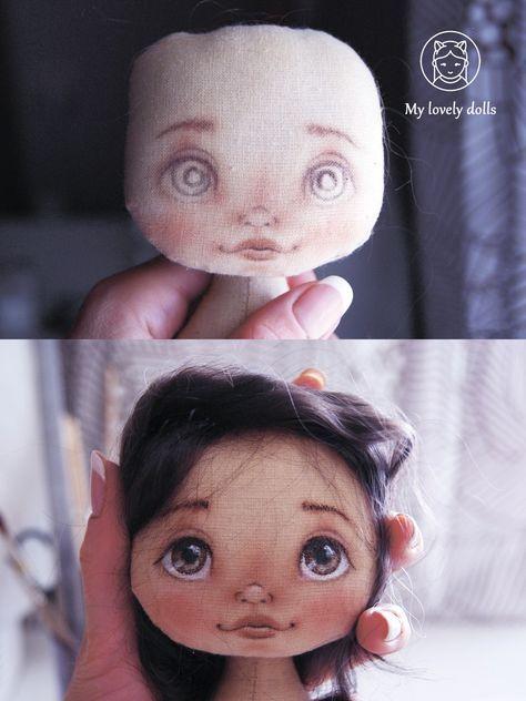 Текстильные куклы и игрушки ❉ MY LOVELY DOLLS