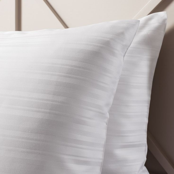 Gallery Direct Strada Housewife White Pillowcase (Pair)