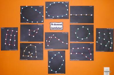 Omia tähtikuvioita