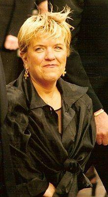Mimie Mathy  humoriste et actrice française