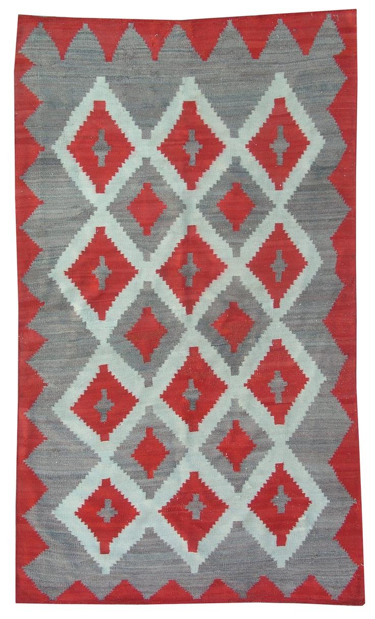 A beautiful navajo kilim.