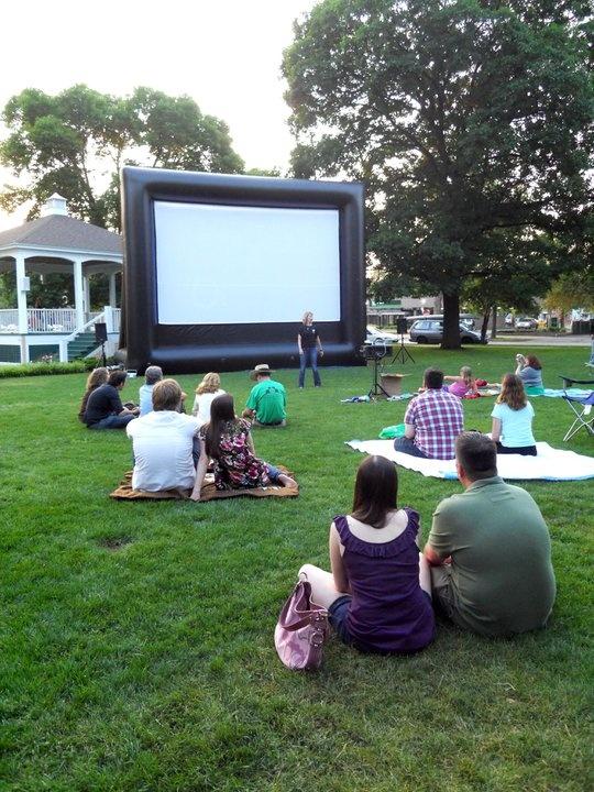 APE's Outdoor Cinema in City Park