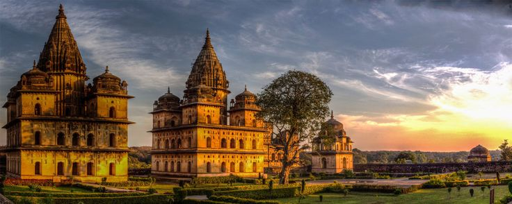 Madhya Pradesh, a large state in central India, retains landmarks from eras throughout Indian history. Begun in the 10th century, its Hindu and Jain temples at Khajuraho are renowned for their carvings of erotic scenes, most prominently Kandariya Mahadeva, a temple with more than 800 sculptures. The eastern Bandhavgarh and Kanha national parks, noted Bengal tiger sanctuaries, offer guided safaris.
