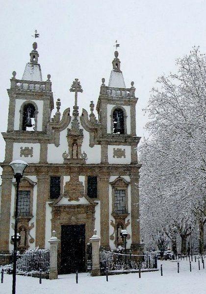 Snow at Vila Real, #Portugal #winter_in_porrtugal