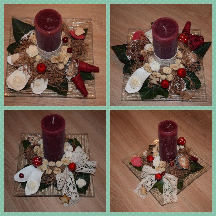 Karácsonyi asztali díszek, Christmas decoration