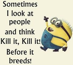 Random Funny minions images with captions (07:06:28 PM, Monday 07, September 2015 PDT) – 10 pics