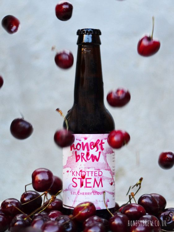Honest Brew - Knotted Stem Sweet & Sour Cherry Stout - Maraschino & Morello Cherries