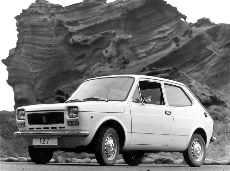El Seat 127, primer modelo con tracción delantera, que sustituyó al 850 a partir de 1972 y alcanzó una producción total de 1,3 millones de unidades.