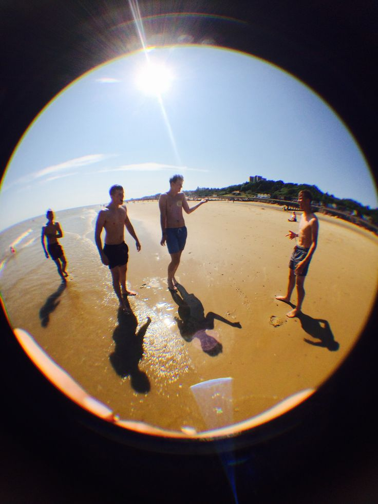 Beach with mates
