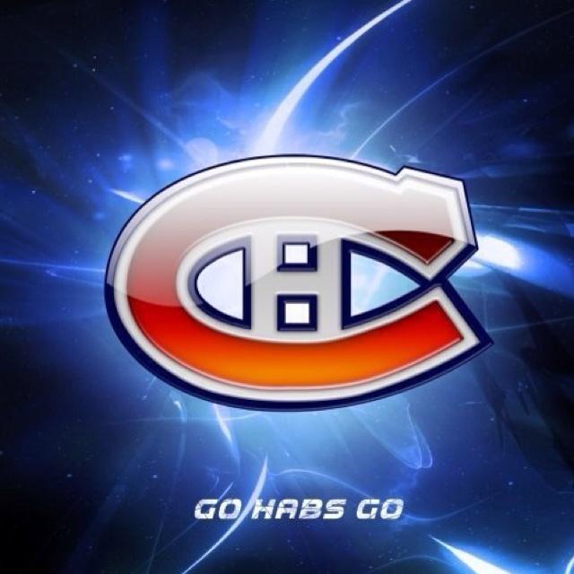 Habs banner. Montréal Canadiens.