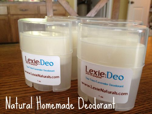 Homemade Natural Deodorant Recipe Homemade Powder And Lavender Essential Oils