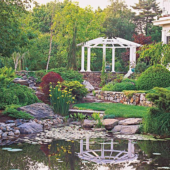 Inspired by Nature pure bliss: Dreams Home, Water Gardens, Water Features, Waterf Ponds, Dreams Houses Backyard, Dreams Gardens, Natural Dreams, Back Yard, Dreams Water