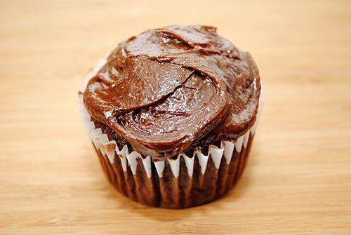 Chocolate Zucchini Cupcake Recipe with Thermomix conversion.