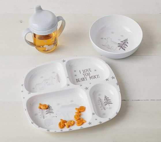 Polar Bear Baby Feeding Set