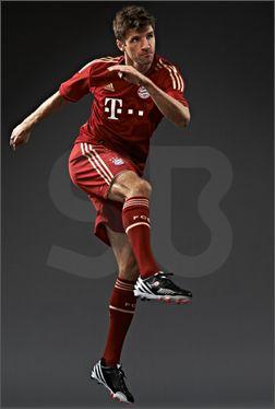 Thomas Müller's Personalised miadidas Predator LZ : Football News : Soccer Bible