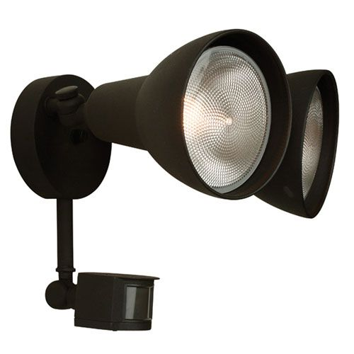 90 mejores imgenes de flood lights en pinterest proyector led craftmade matte black two light outdoor flood light with motion sensor aloadofball Gallery