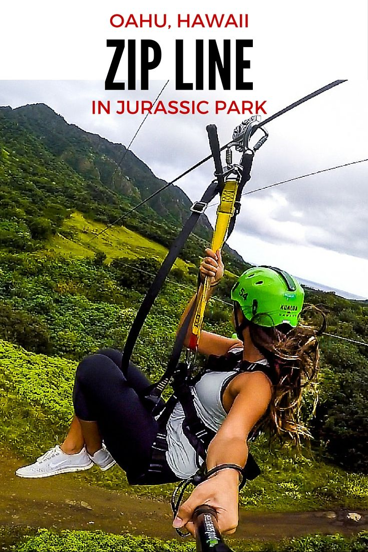 WHY YOU NEED TO GO ZIP LINING ON OAHU