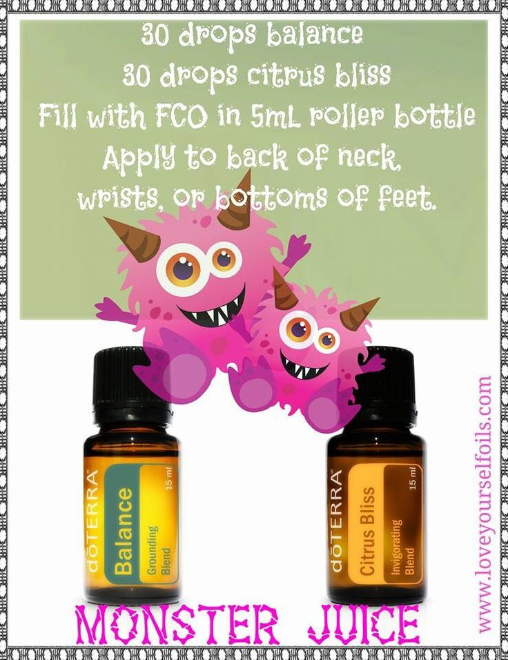 doTERRA essential oils for crankiness & temper tantrums.
