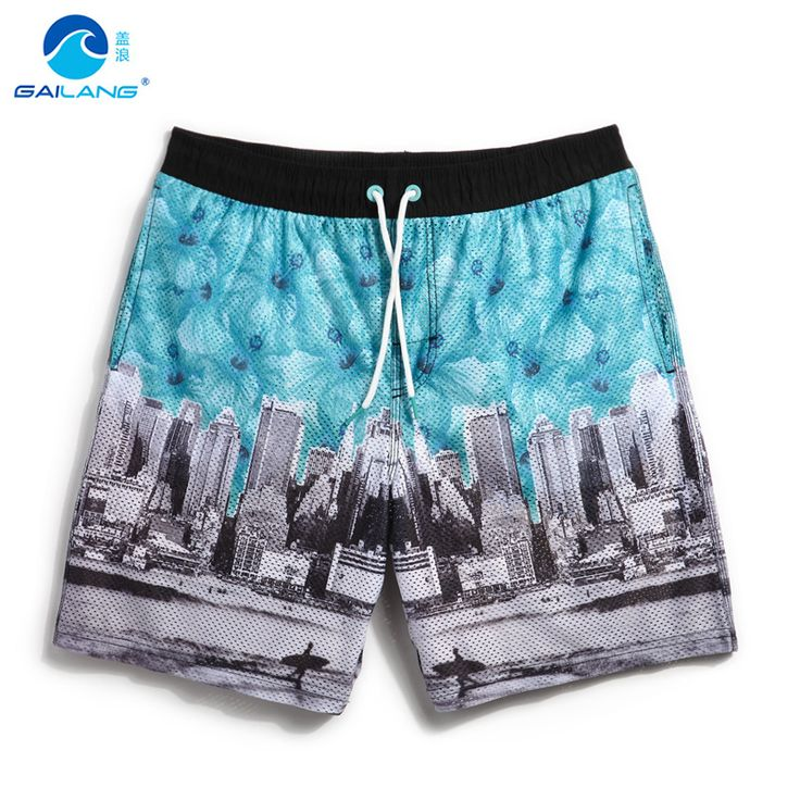 2016 Summer lined Men's Sport Shorts Running Outdoor Beach surf Men liner shorts Male plus size shorts sweat beach short mesh b5