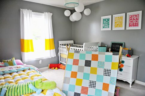 decorating a shared kids room {ann kelle style}
