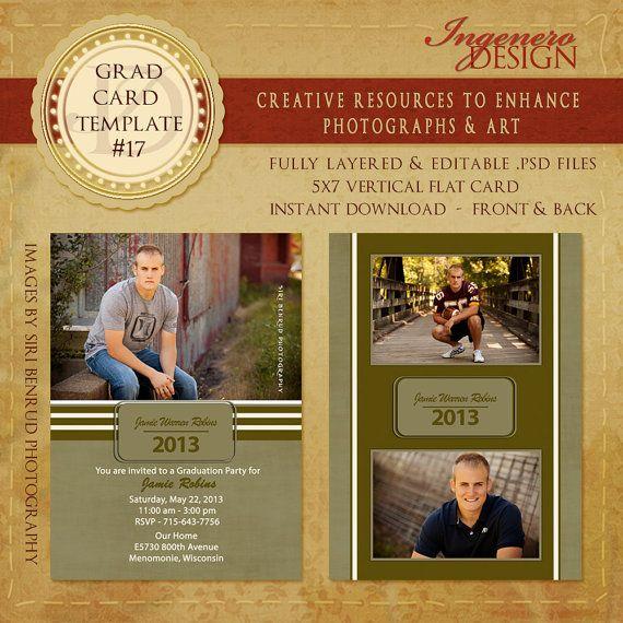 45 best Graduation Templates images on Pinterest Graduation - id card template