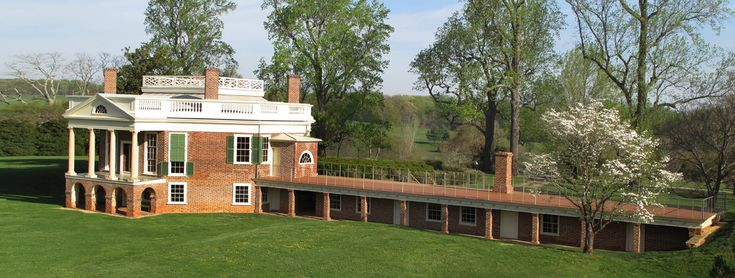 Poplar forest archaeology i have this summer built a for Poplar forest floor plan