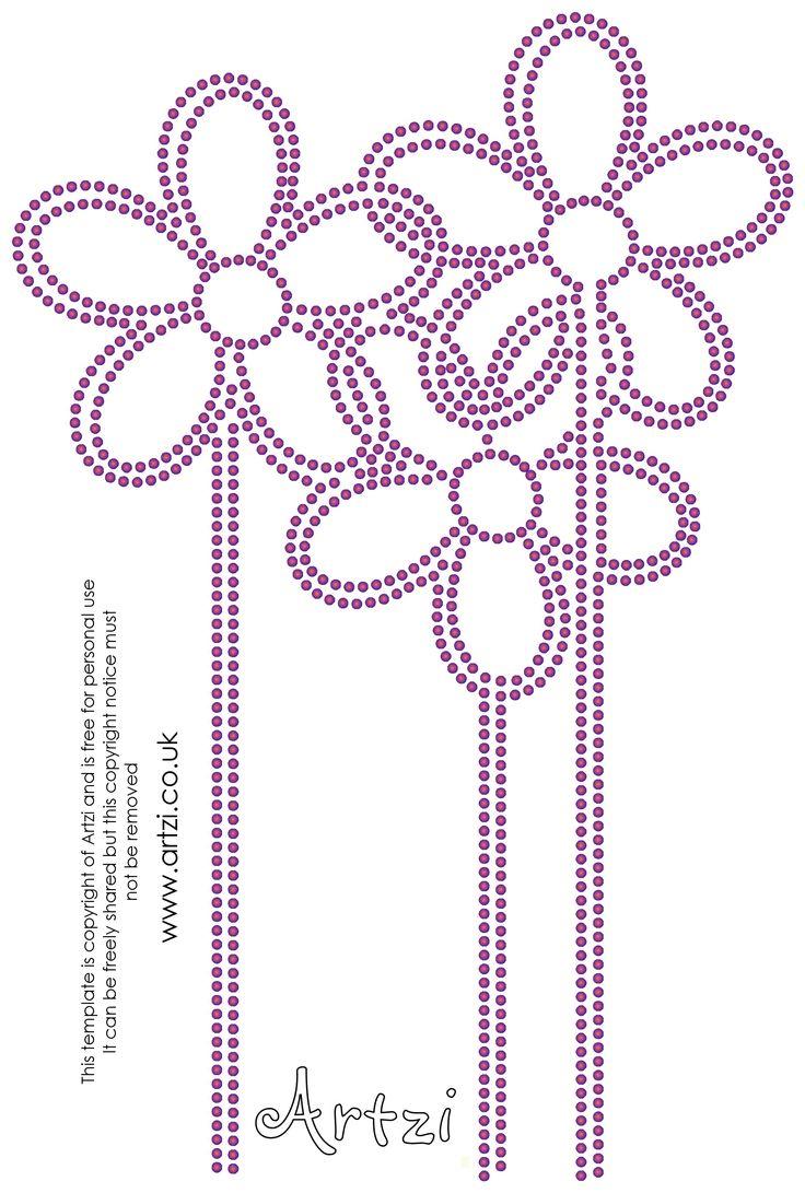 Rhinestone Templates Free Download : rhinestone, templates, download, Xxi23-flowers.jpg, 2,189×3,247, Pixels, Rhinestone, Designs, Pattern,, Crafts,, Crafts