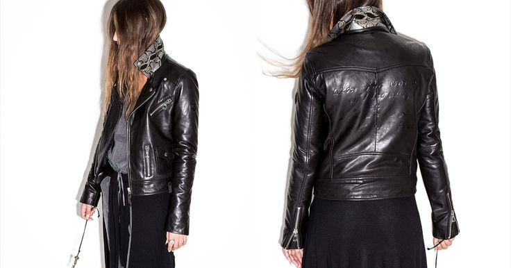 Enter the #ROCKRUDSAK CONTEST for a chance to win a leather jacket customized by Metric lead singer Emily Haines!