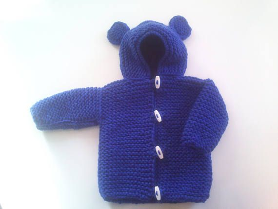 Hand Knitting for babies.Knitted jacket.Handmade jacket.