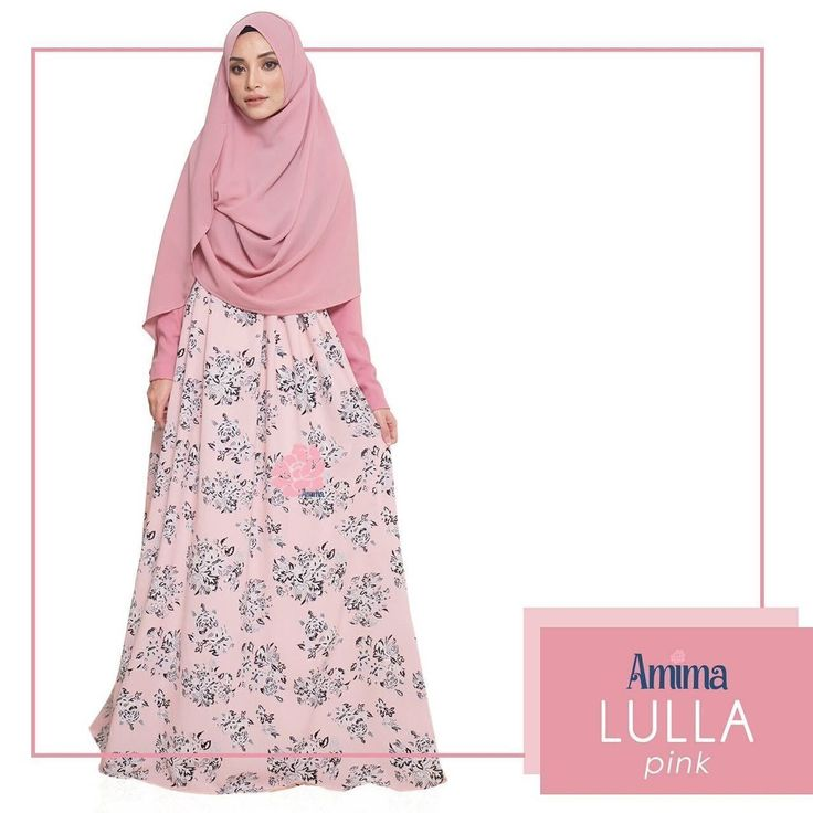 Gamis Amima Lulla Dress Pink - baju muslim wanita baju muslimah Untukmu yg cantik syari dan trendy . . Size: XS ---> LD 92 P 135 S ---> LD 96 P 137 M ---> LD 100 P 139 L ---> LD 104 P 141 XL ----> LD 112 P 144 . . - Material bahan : crystal crepe hq printing for amima (dengan furing katun arrow lembut)  crepe polos Nyaman digunakan seharian bahannya jatuh dan flowy - Dress yang simpel cocok untuk daily - acara formal potongan bawah dada dengan warna soft pastel - Bagian badan dress polos…