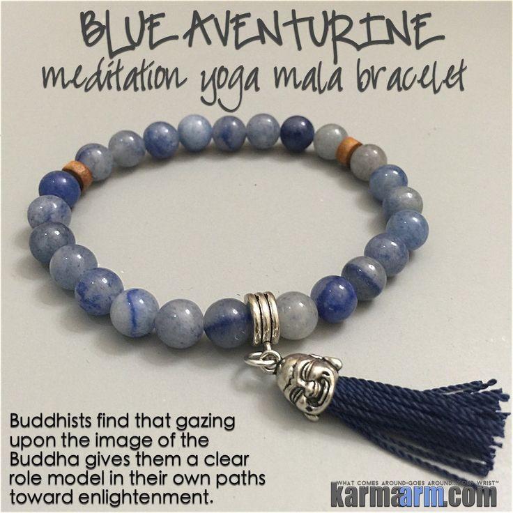 Pandora Mens Jewelry: Blue Aventurine Meditation