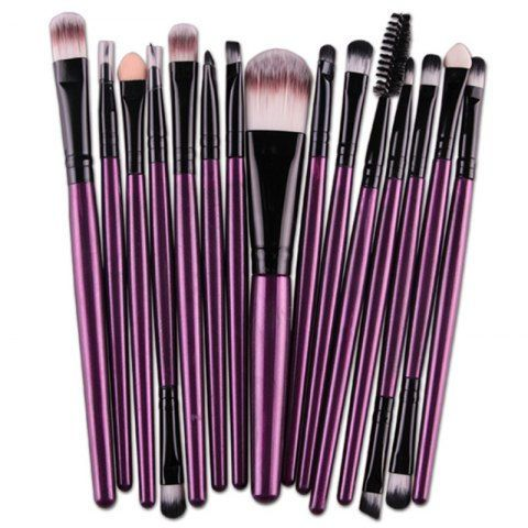 SHARE & Get it FREE   Stylish Multifunction 15 Pcs Plastic Handle Nylon Makeup Brushes SetFor Fashion Lovers only:80,000+ Items • New Arrivals Daily • FREE SHIPPING Affordable Casual to Chic for Every Occasion Join RoseGal: Get YOUR $50 NOW!