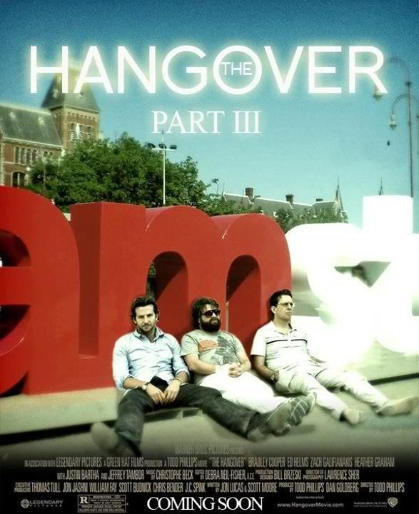 Hangover part 3... Really? Isn't it enough already?