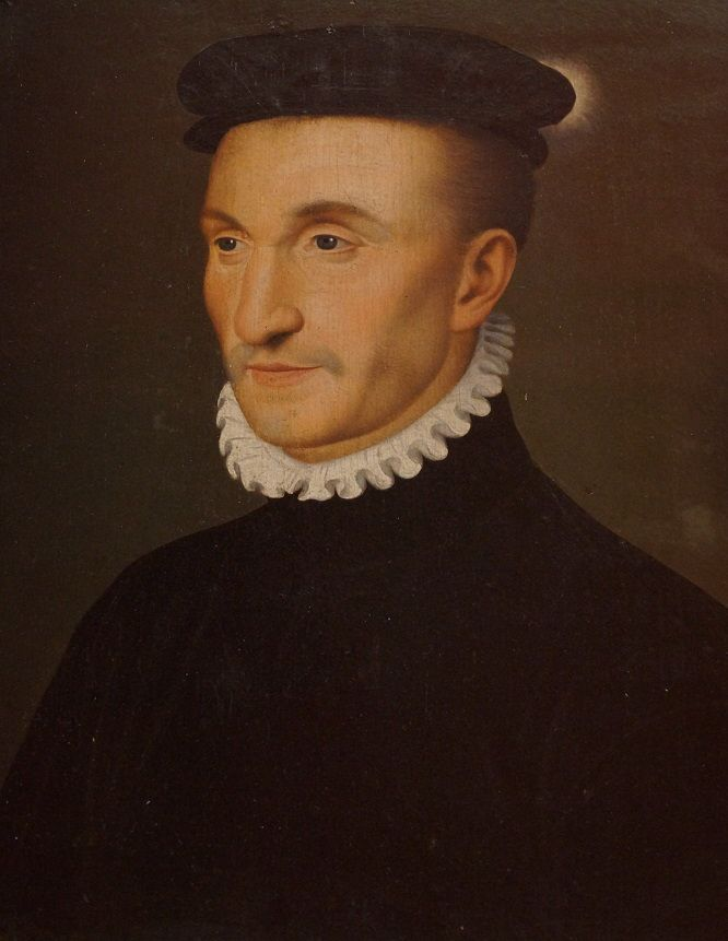 _DSC05892 Портрет работы Ф. Клуэ. Второй муж Маргариты - Генрих д'Альбре, король Наварры.