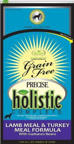 Precise Pet Holistic Complete Grain Free 26 lb Lamb/Turkey Food Bag for Pets, One Size -- Click on the image for additional details. (This is an affiliate link) #Dogfood