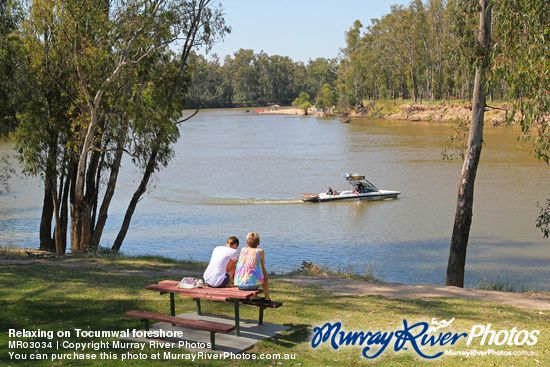 Relaxing at The Murray River is Australia's longest river. At 2,375 kilometres (1,476 mi) in length, the Murray rises in the Australian Alps, draining the western side of Australia's highest mountains and, for most of its length, meanders across Australia's inland plains, forming the border between the states of New South Wales and Victoria as it flows to the northwest, before turning south for its final 500 kilometres (310 mi) or so into South Australia, reaching the ocean at Lake…