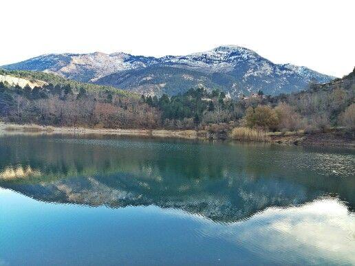 Tsivlu lake Greece (Achaia)