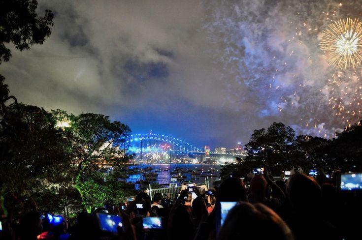 NYE Sydney 2017-2018 Nouvel An à Sydney Feu d'artifice Sydney
