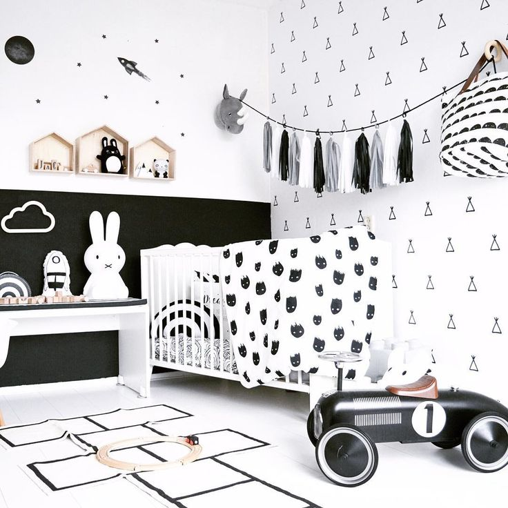 Kids Bedroom Black And White best 25+ white kids room ideas on pinterest | scandinavian baby