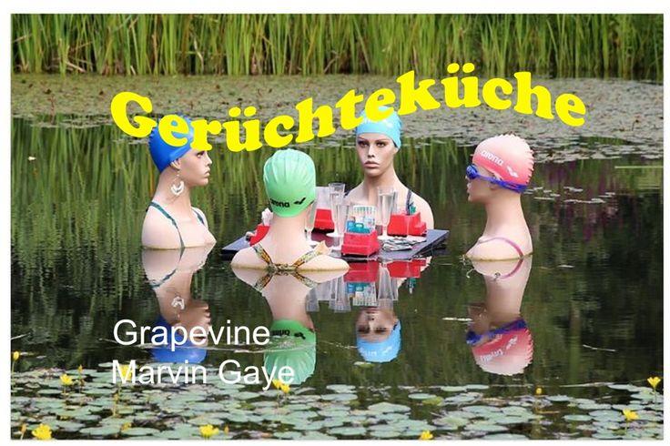 I heard it hrough the grapevine – Marvin Gaye, 1968 Marvin Gaye wird mit diesem Titel aus dem Jahr 1968 verschiedentlich unter den erfolgreichsten Songs in der Geschichte der Soulmusik aufgeführt (*). Mehr Text >> s. Website unten. Bildquelle: Hermann/ https://pixabay.com/de/schwimmerinnen-frauen-gespr%C3%A4ch-415823/