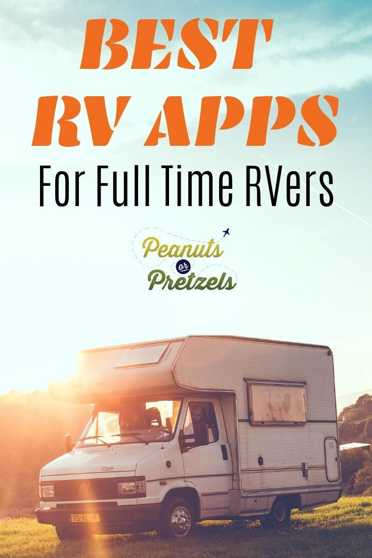 Best RV Apps for Full Time RVers Rv apps, Trip planning