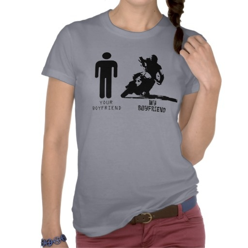 your boyfriend my boyfriend supermoto tee shirt size l. Black Bedroom Furniture Sets. Home Design Ideas