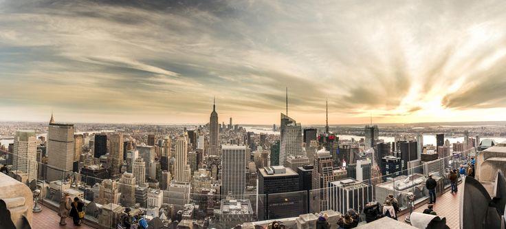 Manhattan Skyline from Rockefeller by James Preuss on 500px