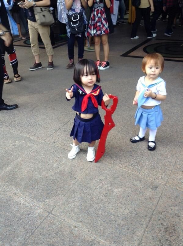So so cute kill la kill cosplay