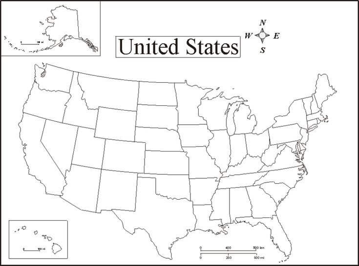 pictures to print of  a map of united states ..