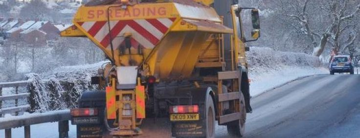 Schools closures gritters and cold weather updates