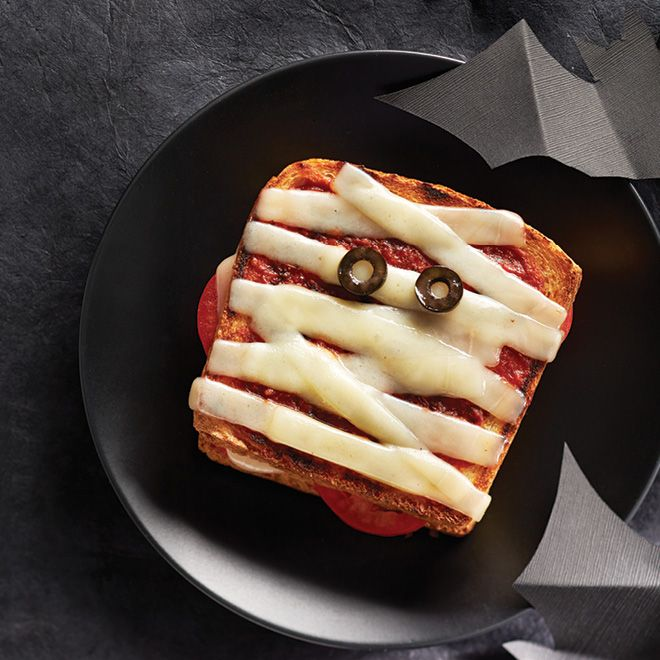 How to make Mummy Pizza Grilled Cheese | Recipe | Pizza ...