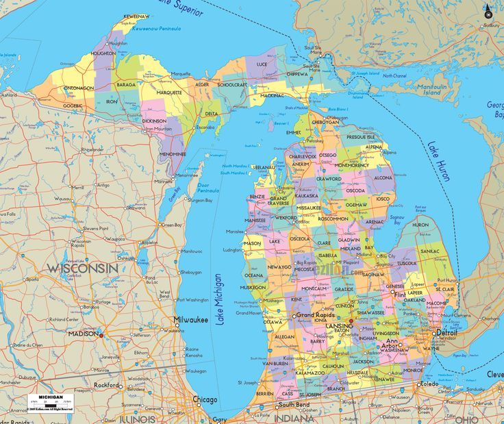 04/08/2020· michigan is the 10th most populous and the 11th largest state in the us. Political Map Of Michigan Map Of Michigan Map Michigan