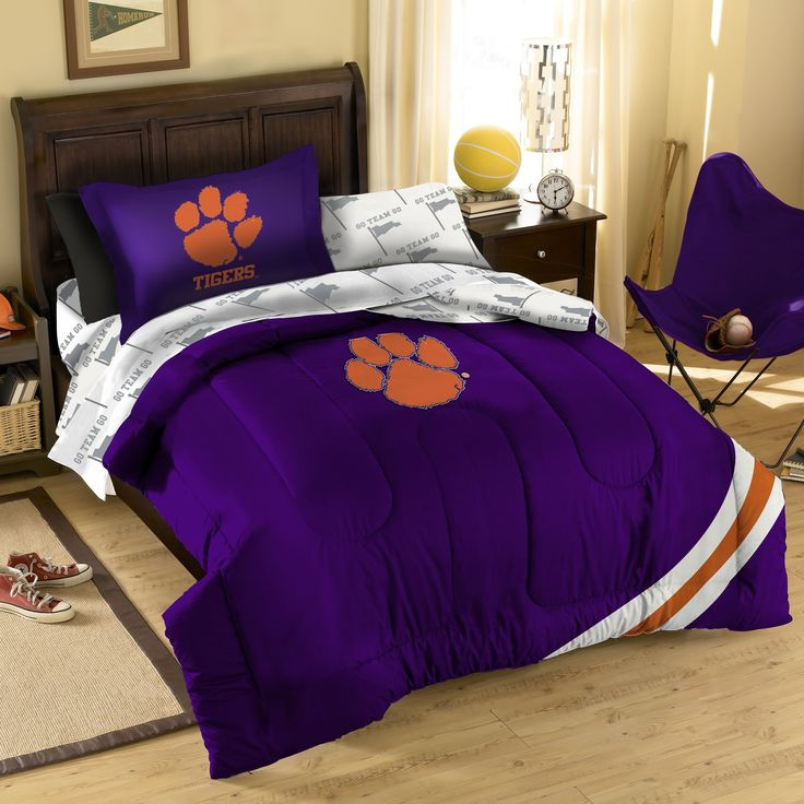 Ncaa Clemson Tigers Full Bed Set Orange Cotton Bedding: 1000+ Images About Clemson Tigers On Pinterest