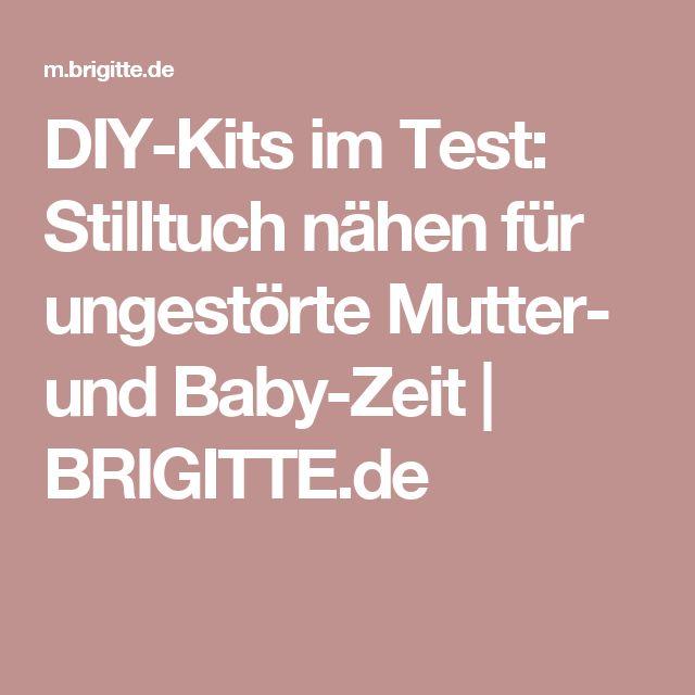 DIY-Kits im Test: Stilltuch nähen für ungestörte Mutter- und Baby-Zeit | BRIGITTE.de